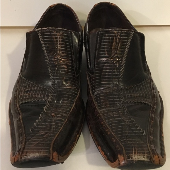 Giorgio Brutini Other - GIORGIO BRUTINI Men's Sz 10 Leather Cross Shoes